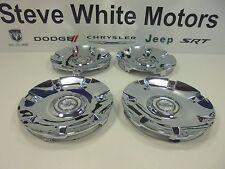 04-08 Chrysler Pacifica New Chrome Wheel Center Cap 19x8 Set of 4 Mopar Oem