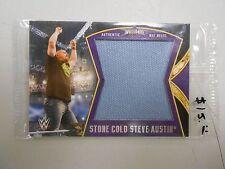 "2014 Wrestlemania 30 MATT RELIC card! ""Stone Cold Steve Austin"" MINT in package"