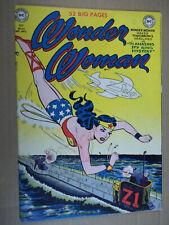Wonder Woman #43 CGC 4.0 WAR COVER!!! SEPT OCT Fall 1950 DC