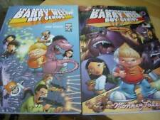 Adventures of Barry Ween Boy Genius Book 1 (1-3) & Book 3 Monkey Tales-Paperback