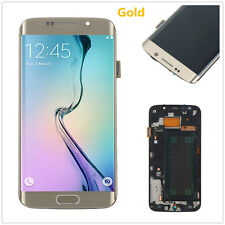 New For Samsung Galaxy S6 Edge SM-G925F LCD Touch Screen Glass Digitizer & Frame