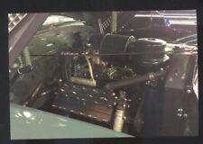 1941 CADILLAC FLATHEAD V8 ENGINE INTERIOR POSTCARD COPY