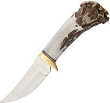 "Ken Richardson Knives Small Hunter 3"" Fixed Blade Knife w/ Belt Sheath"
