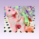 ❤️My Little Pony MLP And Friends G1 Vtg 1987 ZIG ZAG ZEBRA Pink Green Stripes❤️