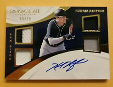 2017 Immaculate Collection Hunter Renfroe Autograph Rookie Quad Relic /99