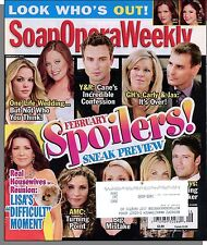 Soap Opera Weekly - 2011, February 8 - Look Who's Out! February Spoilers!