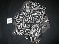 NWT  COACH ZEBRA OPTIC ART  BLACK  SIGNATURE Long Oblong  SILK Wrap Scarf NEW