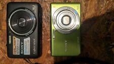 Sony Cyber-shot DSC-WX9 16.2MP  And DSC-W530 14.1MP Digital Camera.