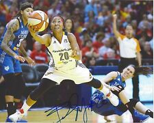 BRIANN JANUARY Signed 8 x 10 Photo WNBA Basketball INDIANA FEVER Free Ship ASU