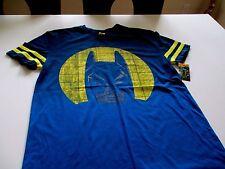 Lego Batman Graphic Tee T-shirt   WB DC Blue X Large yellow stripe moon NWT