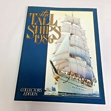 The Tall Ships 1986 Collectors Edition Book Liberman Middle Atlantic Press