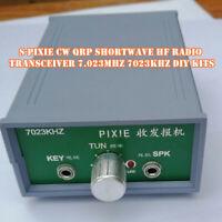 S-PIXIE CW QRP Shortwave HF Radio Transceiver 7.023Mhz 7023KHZ DIY KITS Hot-Sale