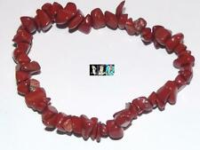Splitterarmband Jaspis rot flexibel - Jaspisarmband,  Armband, Armschmuck