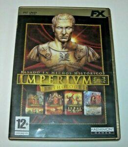 Imperium anthology PC edición española muy buen estado