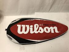 Wilson K Factor Tour Tennis Racquet Racket with case arophite black