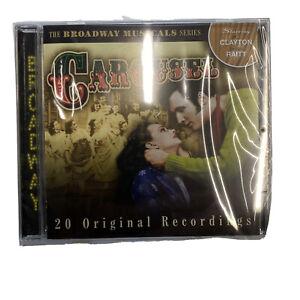 THE BROADWAY Musical Series Carousel 20 Original Recordings CD NEW