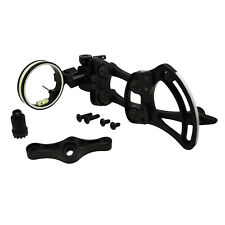 Safari Choice 1 Pin Bow Sight w/ Micro Adjust for Compound Bow