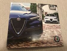 2019 ALFA ROMEO Full-Line 12-page Original Sales Brochure
