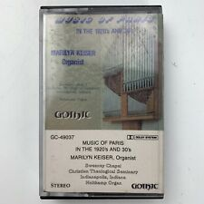 Marilyn Keiser Music of Paris in The 1920's and 30's (Cassette)