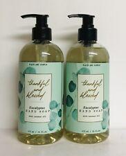 (2) Eucalyptus Hand Soap with Coconut Oil 16 fl oz Each