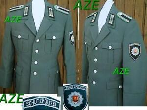Gr44-56 original DDR MDI,NVA , VOPO Uniform Jacke DEUTSCHE VOLKSPOLIZEi +Effekte