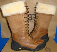 UGG Australia ADIRONDACK Tall Chestnut Waterproof Vibram Sole Boots Size 5 NIB