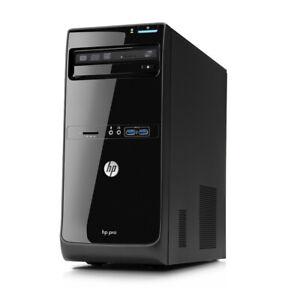 HP PRO 3400 MT PC Pentium G630 2.8GHz 4GB 1TB HDD DVD WIN 10