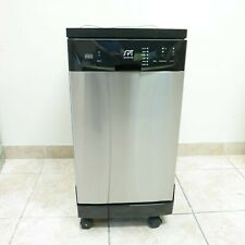 "Pickup Only Spt 18"" Portable Dishwasher Sd-9241Ss Stainless Steel"