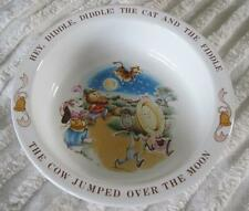 "1984 Avon Child's 6"" Bowl Cow Jumped Over The Moon"