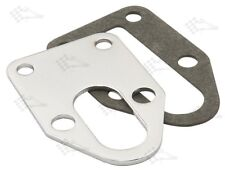 Chrome Fuel Pump Mounting Plate With Gasket - SB Small Block Chevy
