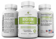 High Potency Biotin 90 Days Supply