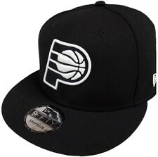NEW Era Indiana Pacers NBA black white logo 9 FIFTY Snapback Cap Limited Edition