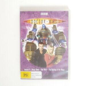 Doctor Who Volume 4 Boom Town DVD Region 4 AUS TV Series Free Postage