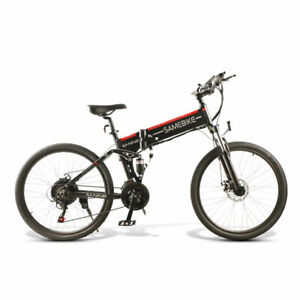 Vélo électrique de montagne 25 km/h Mode 500W 48V 10AH batterie e-bike