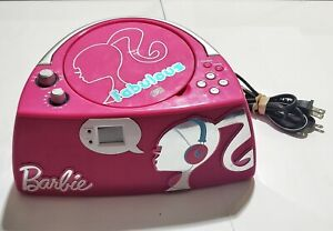 Barbie Fabulous Glamtastic BOOMBOX Radio/CD Player Tested! Great Sound! No anten