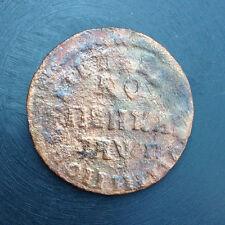 1713 1 KOPEK НД OLD RUSSIAN IMPERIAL COIN. ORIGINAL.