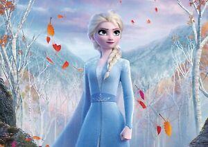 Frozen 2 Elsa Poster Print A6 A5 A4 A3 A2 A1 A0