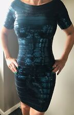 HERVE LEGER  Cocktail/Party Dress X Small Fabulous! RRP £2000