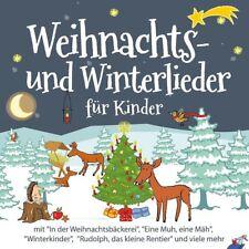 Weihnachts- und Winterlieder für Kinder CD NEU & Eingeschweißt