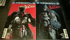ALL STAR BATMAN #1 Lot NM/NM+ Regular + JOCK Variant Covers REBIRTH HOT! SET