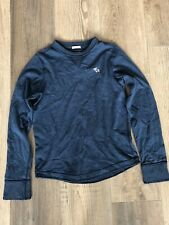 Boy's Abercrombie & Fitch Size 12 Years Muscle Fit Jumper Navy Blue