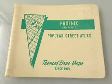 1981-82 Thomas Bros. Maps PHOENIX **Thomas Guide** ..Vintage Unused Sharp!