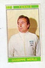 [LC40] FIGURINA CAMPIONI DELLO SPORT PANINI 1967/68 N. 521 TENNIS MERLO