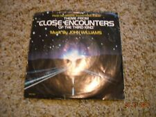 John Williams THEME FROM CLOSE ENCOUNTERS of the Third Kind 45 RPM VG 1977