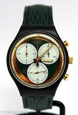 SWATCH original Swiss made CHRONO SCB107 quartz watch New old stock