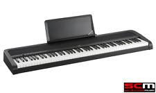 KORG B1 BK Portable Digital Piano 88 Natural Weighted Hammer Keys - New B1-BK