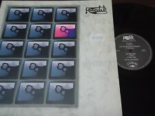 "RIVENDEL - Manifesto, LP 12"" SPAIN RARE PROG 1990 MINT"