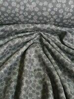 Woll Stoff Mantelwolle Stoffe Woll-Jacquard Farbe grau-schwarz Mantel Blazer