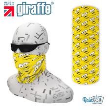 G564 Minion style fun ski Headgear Neckwarmer multifunctional Bandana Headband