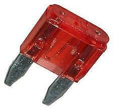 10 x Mini Blade Fuses 10A 10 Amp (11mm x 15mm) o/e spec fits ALFA ROMEO